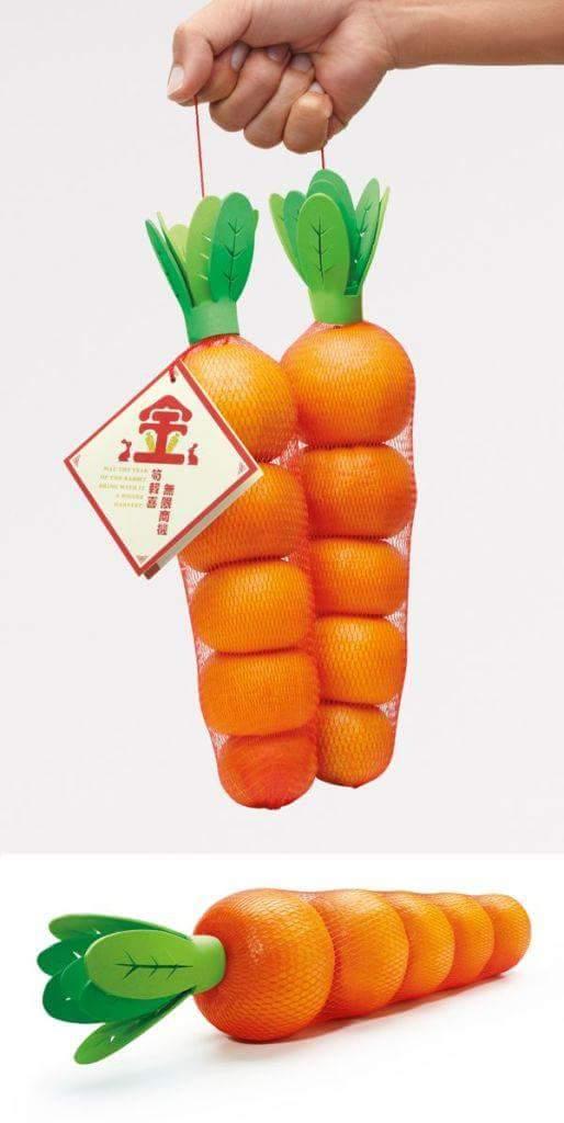 Packaging per arance