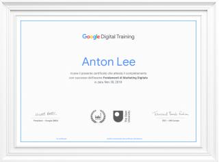 Google DIGITAL trainimg